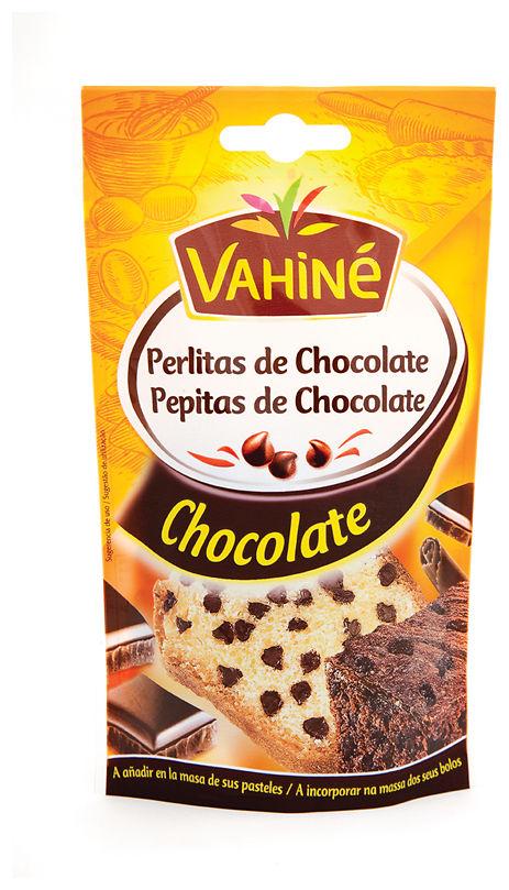 Gotas de chocolate marca Vahiné