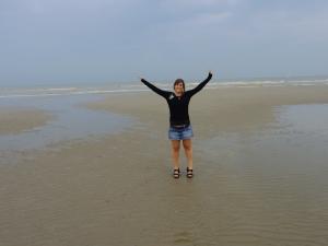 Yo en Bélgica.