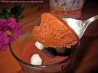 Mousse de chocolate y marsmallows.